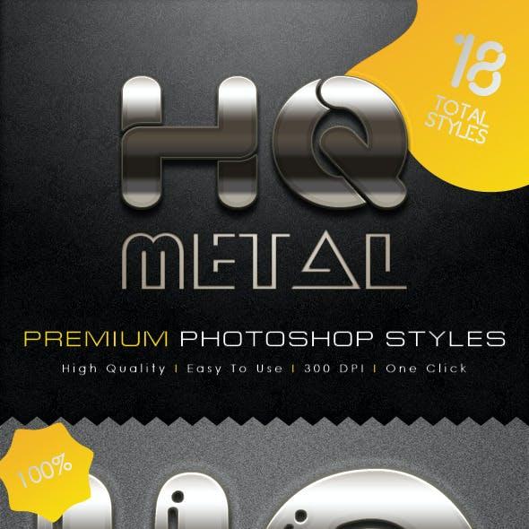 HQ Premium Metal Styles