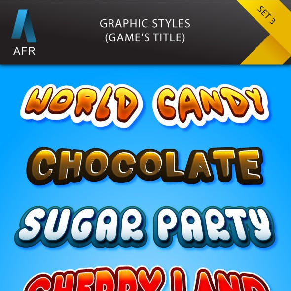 AFR Graphic Styles Set 3