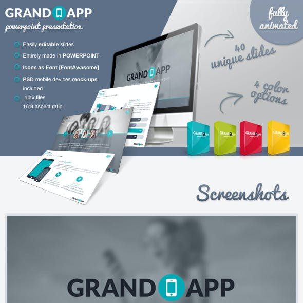 Grand App Powerpoint Presentation