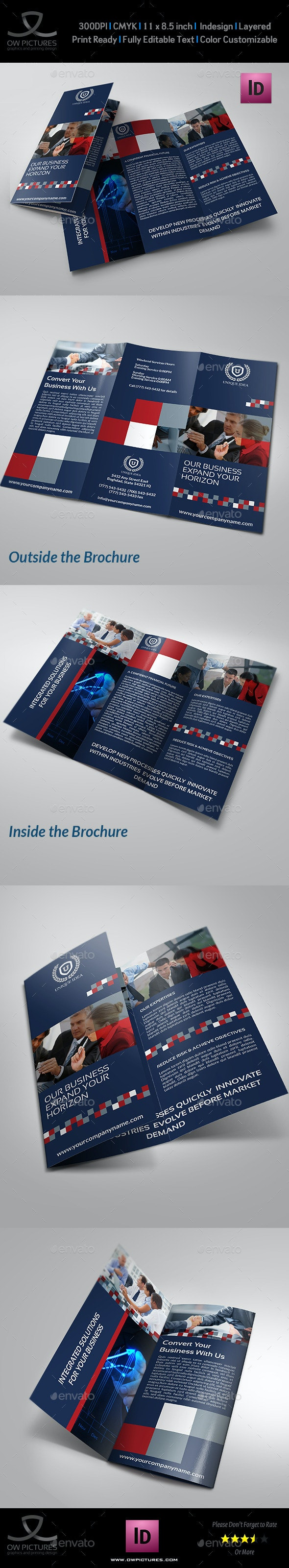 Company Brochure Tri-Fold Brochure Vol.12 - Corporate Brochures