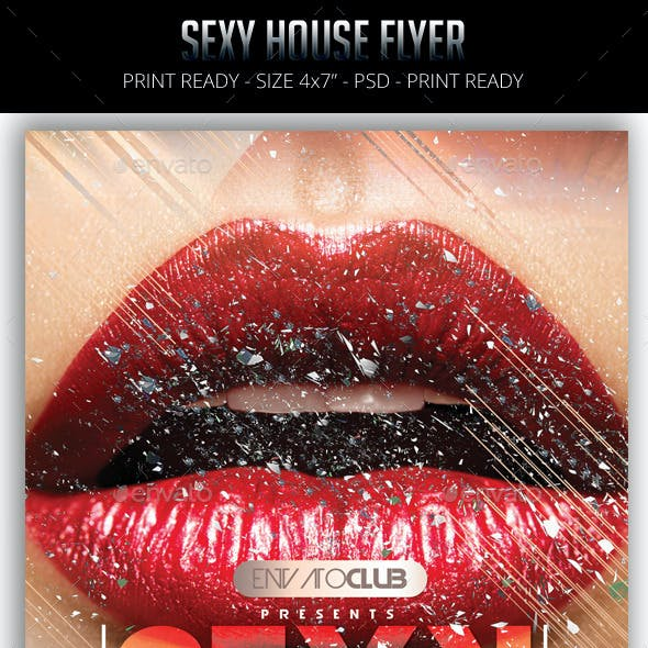 Sexy House Flyer