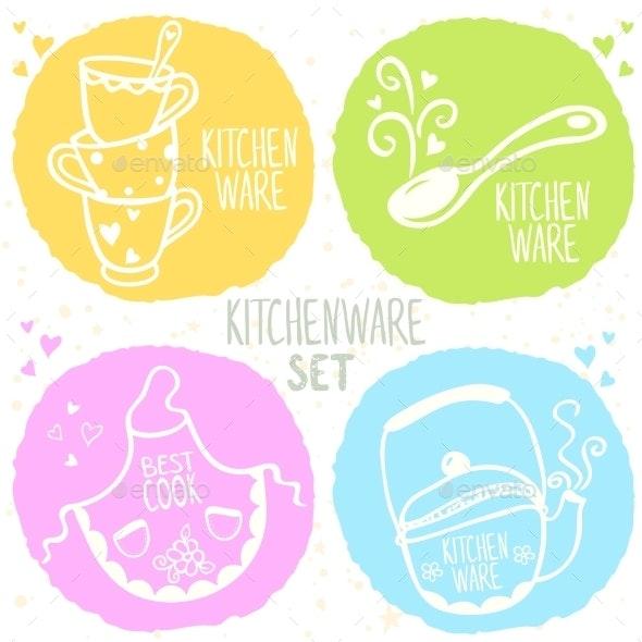 Kitchenware Set - Miscellaneous Conceptual