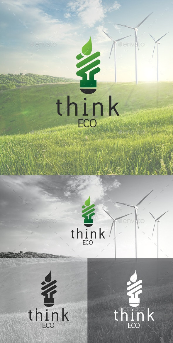 ThinkEco - Nature Logo Templates