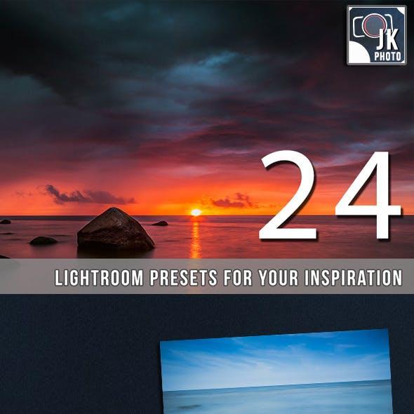 24 Pro Landscape Lightroom Presets