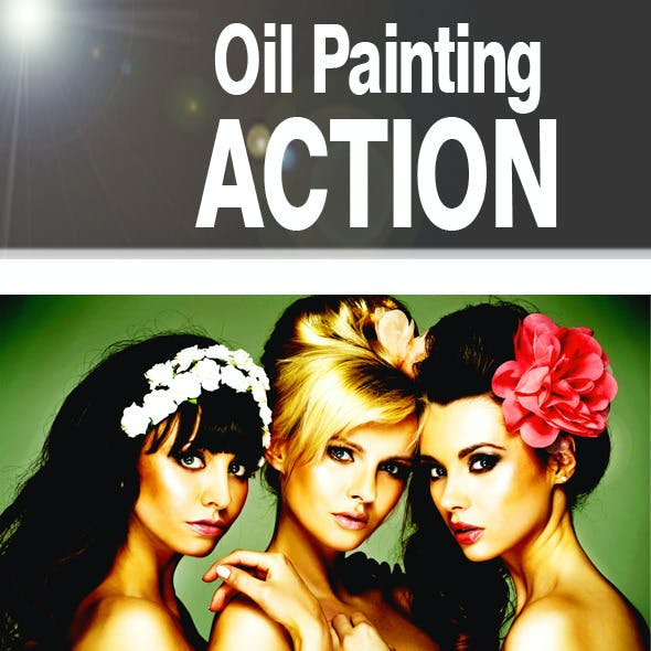 Oil Painting PS Action