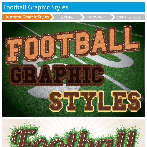 Football Graphic Styles