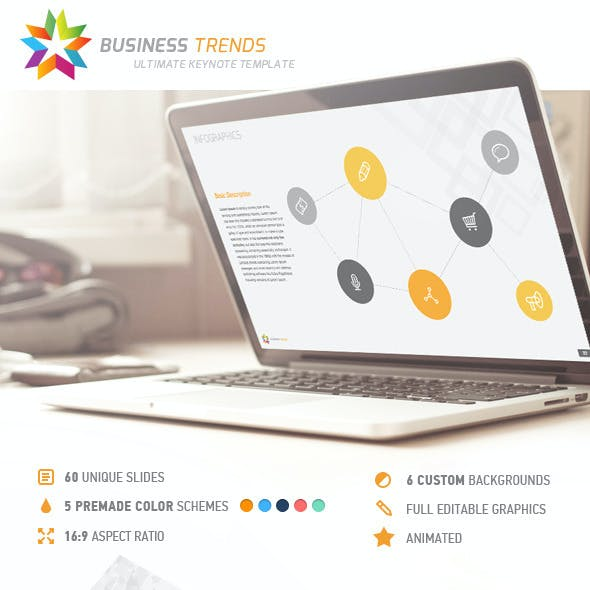 Business Trends Keynote Template