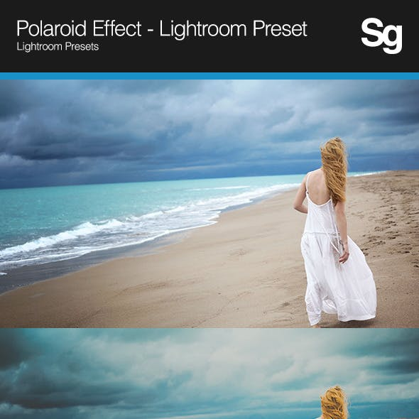 Polaroid Effect - Lightroom Preset
