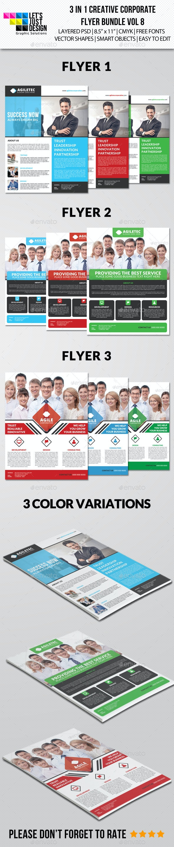 Creative Corporate Flyer Pack Vol 8 - Corporate Flyers
