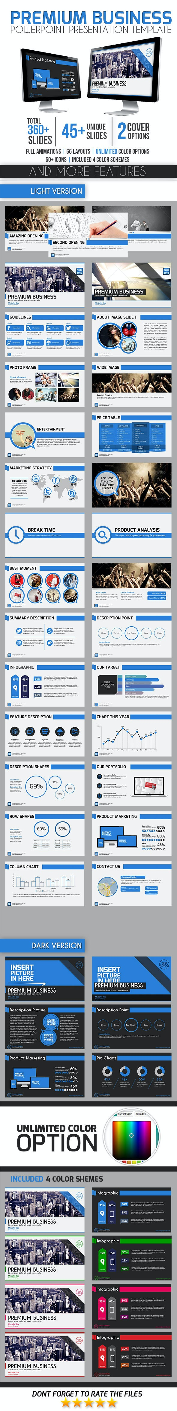 Premium Business  - Business PowerPoint Templates