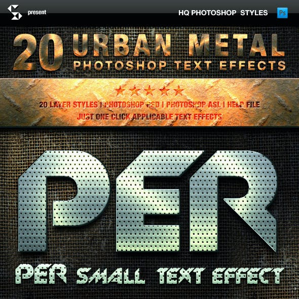 Metal Styles - Urban Metal Text Effects