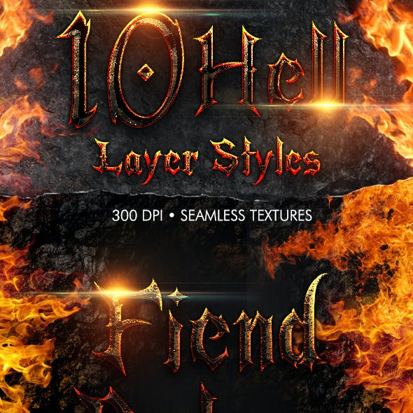 Hell Layer Styles