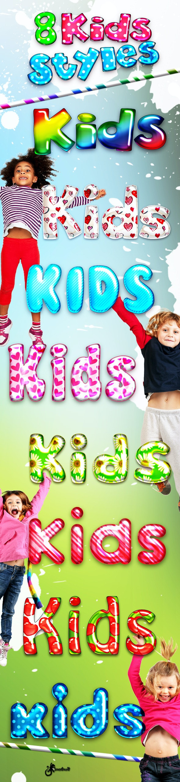 Kids Styles - Text Effects Styles
