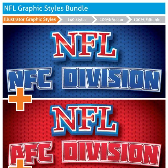 NFL Graphic Styles Bundle