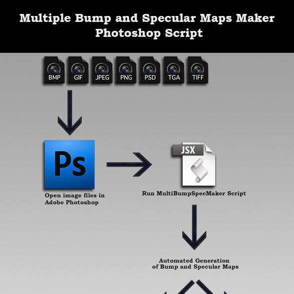 Multiple Bump and Specular Maps Maker Script [PS]