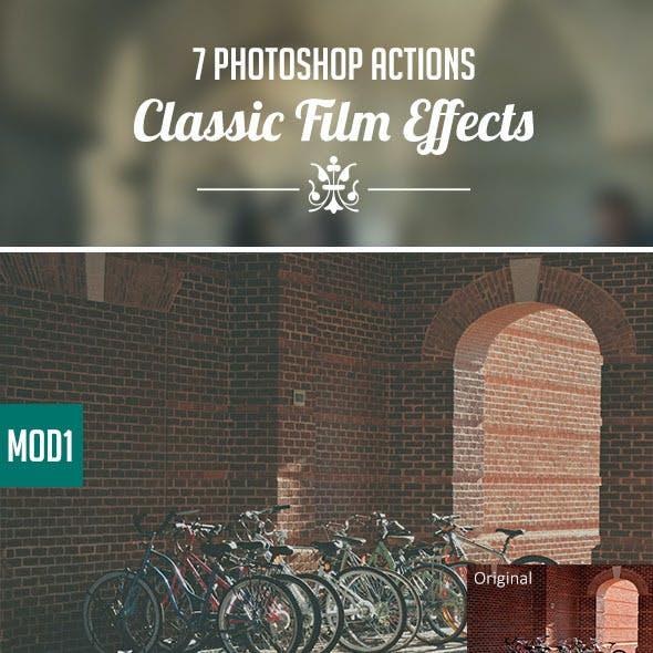Classic Film Effect Actions Vol 1