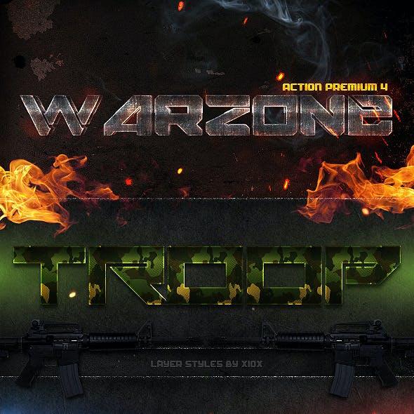 Action Premium 4: Warzone