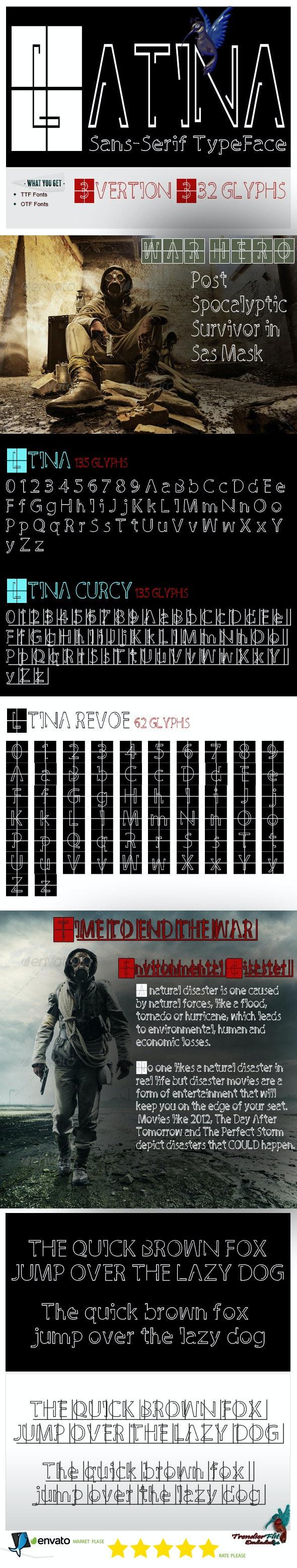 Latina - Sans-Serif Fonts