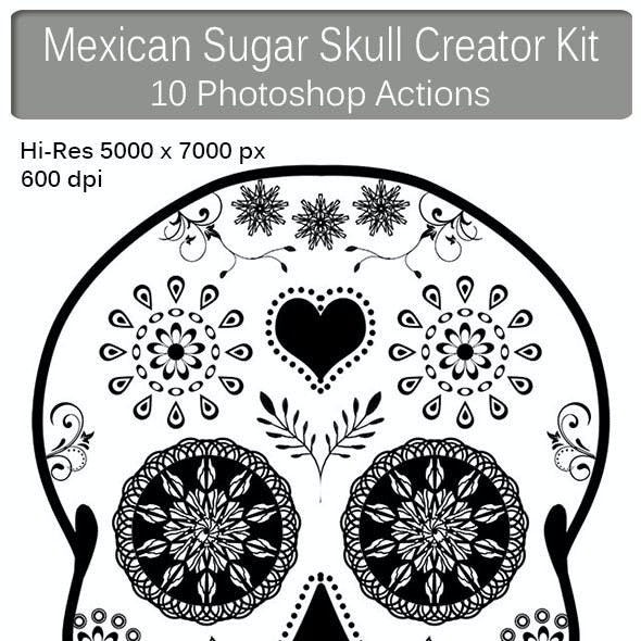 Mexican Sugar Skull Creator Kit