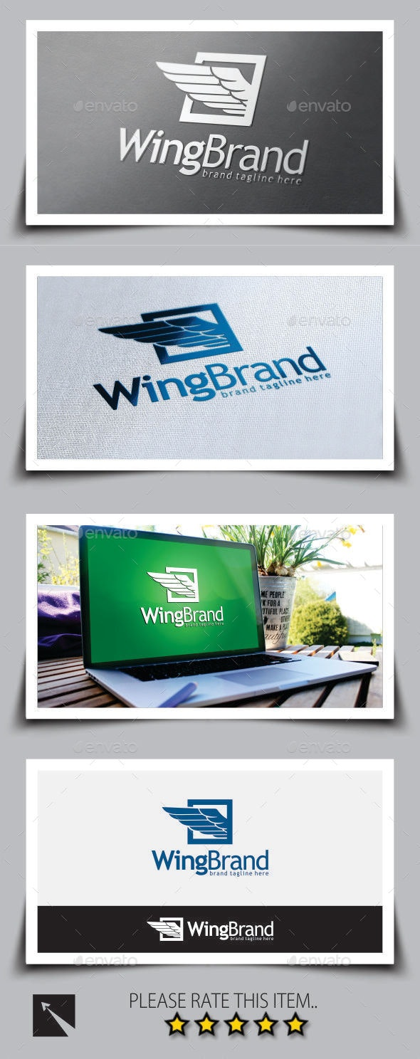 Wing Brand Logo Template - Symbols Logo Templates