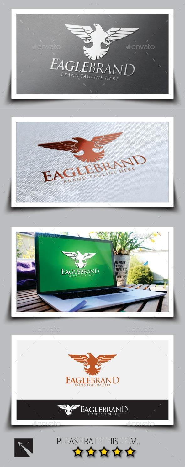 Eagle Brand v2 Logo Template