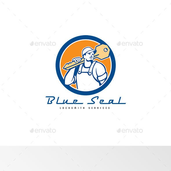 Blue Seal Locksmith Services Logo