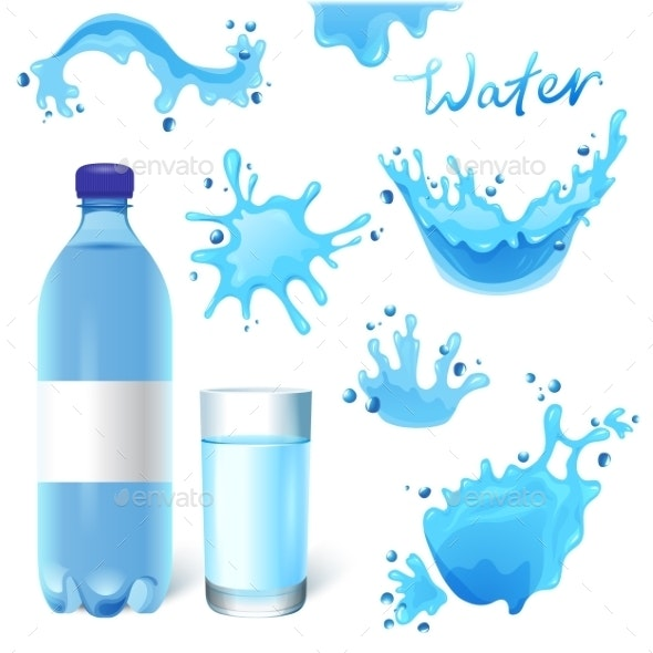 Water Set - Food Objects