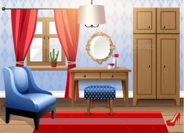 Modern Interior - Miscellaneous Vectors