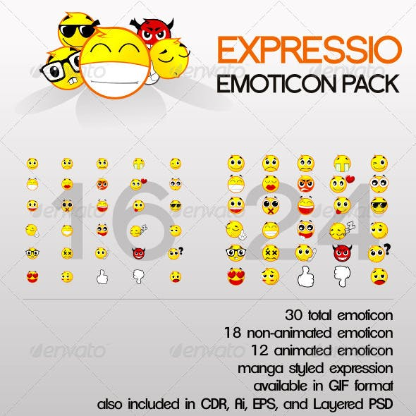 Expressio Emoticon Pack