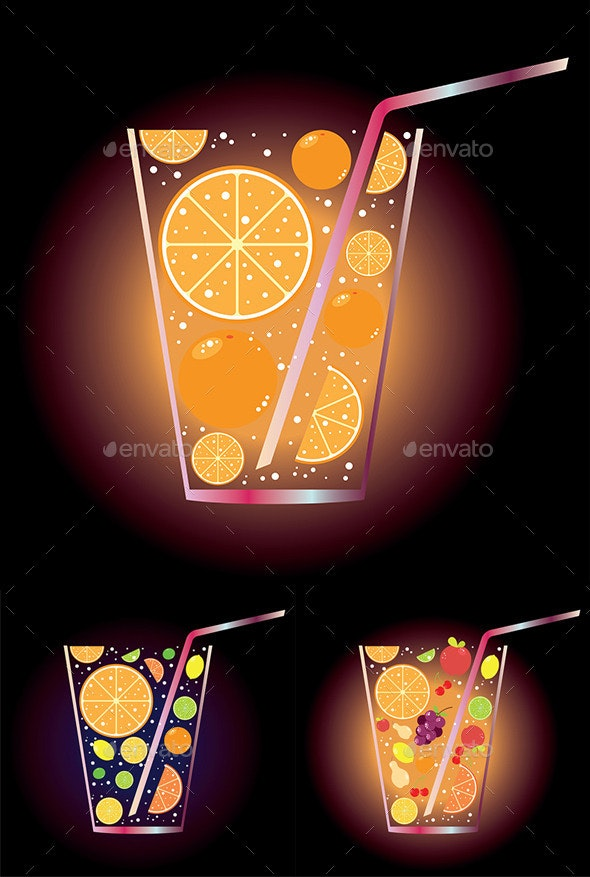 Citrus Juice - Food Objects