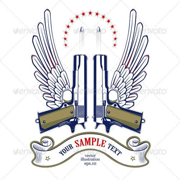 Gun Wing Emblem