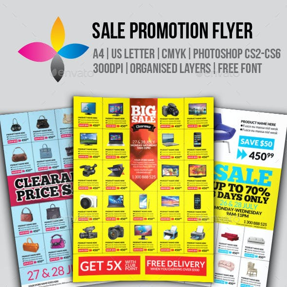 Sale Promotion Flyer