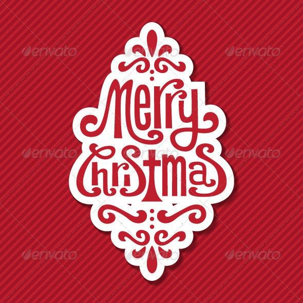 Christmas Tag  - Christmas Seasons/Holidays
