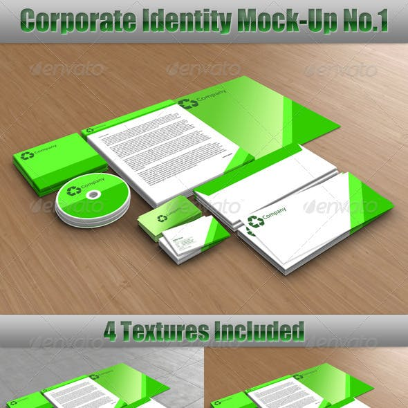 Corporate Identity Mock-Up No.1