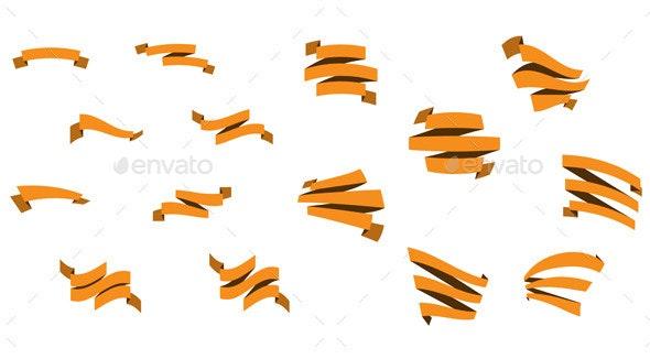 Flat Ribbons - Miscellaneous Vectors