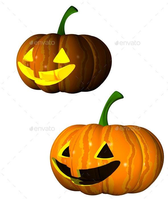 Pumpkin - Objects 3D Renders