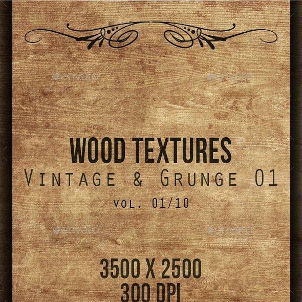 Wood Textures - Vintage & Grunge 01 vol. 01