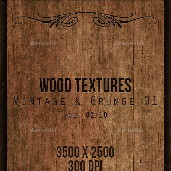 Wood Textures - Vintage & Grunge 01 vol. 02