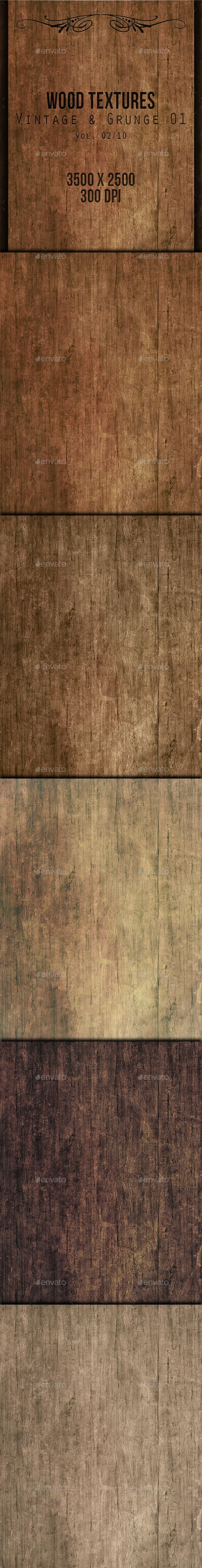 Wood Textures - Vintage & Grunge 01 vol. 02 - Wood Textures