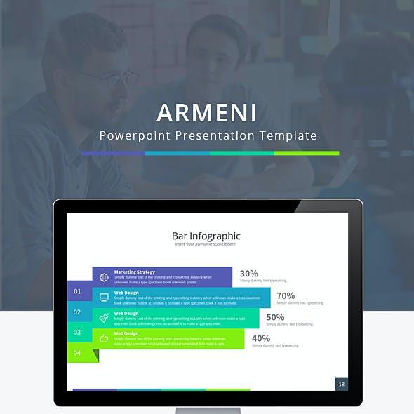 Armeni Powerpoint Presentation Template