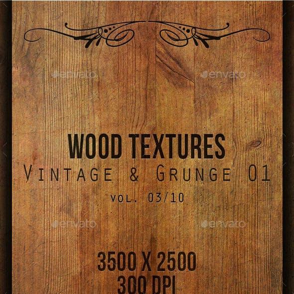 Wood Textures - Vintage & Grunge 01 vol. 03