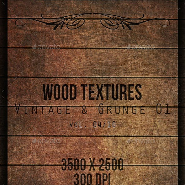 Wood Textures - Vintage & Grunge 01 vol. 04