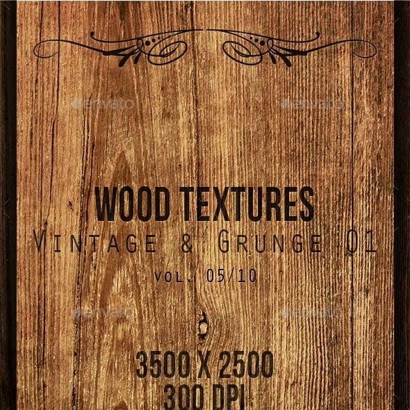 Wood Textures - Vintage & Grunge 01 vol. 05