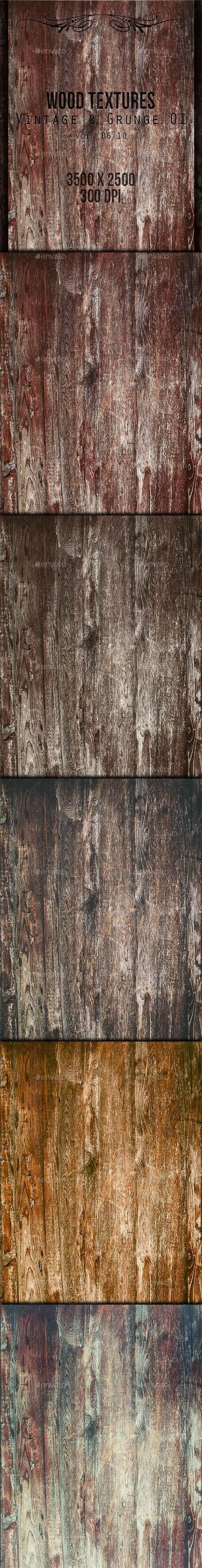 Wood Textures - Vintage & Grunge 01 vol. 06 - Wood Textures
