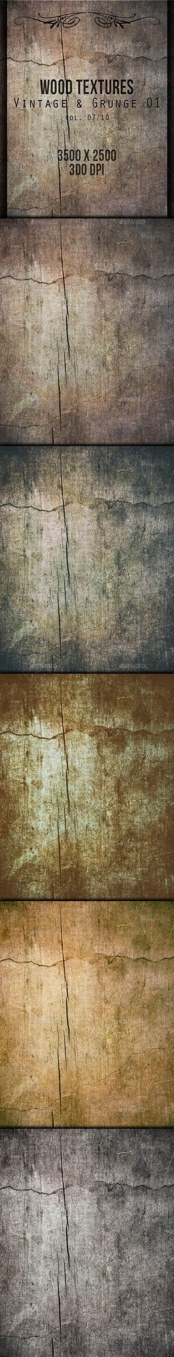 Wood Textures - Vintage & Grunge 01 vol. 07