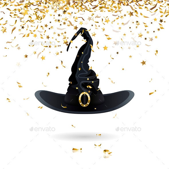 Carnival Witch Hat - Halloween Seasons/Holidays