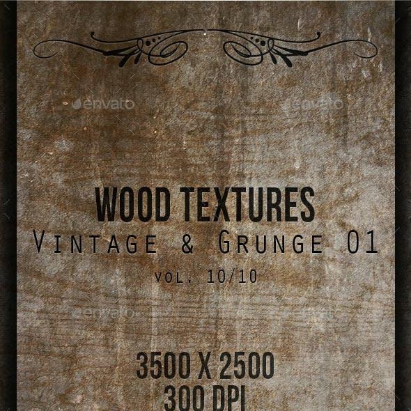 Wood Textures - Vintage & Grunge 01 vol. 10