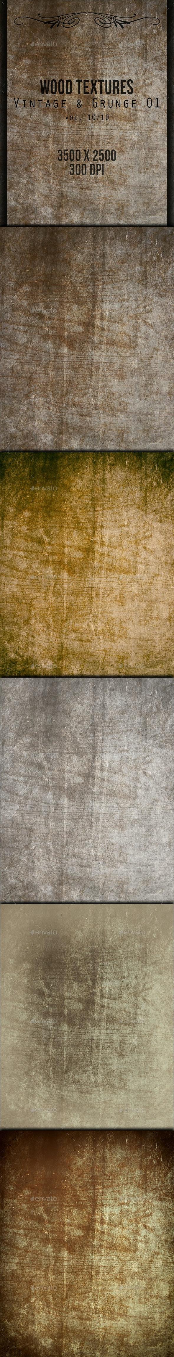 Wood Textures - Vintage & Grunge 01 vol. 10 - Wood Textures