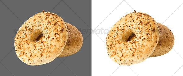 Bagel - Food & Drink Isolated Objects