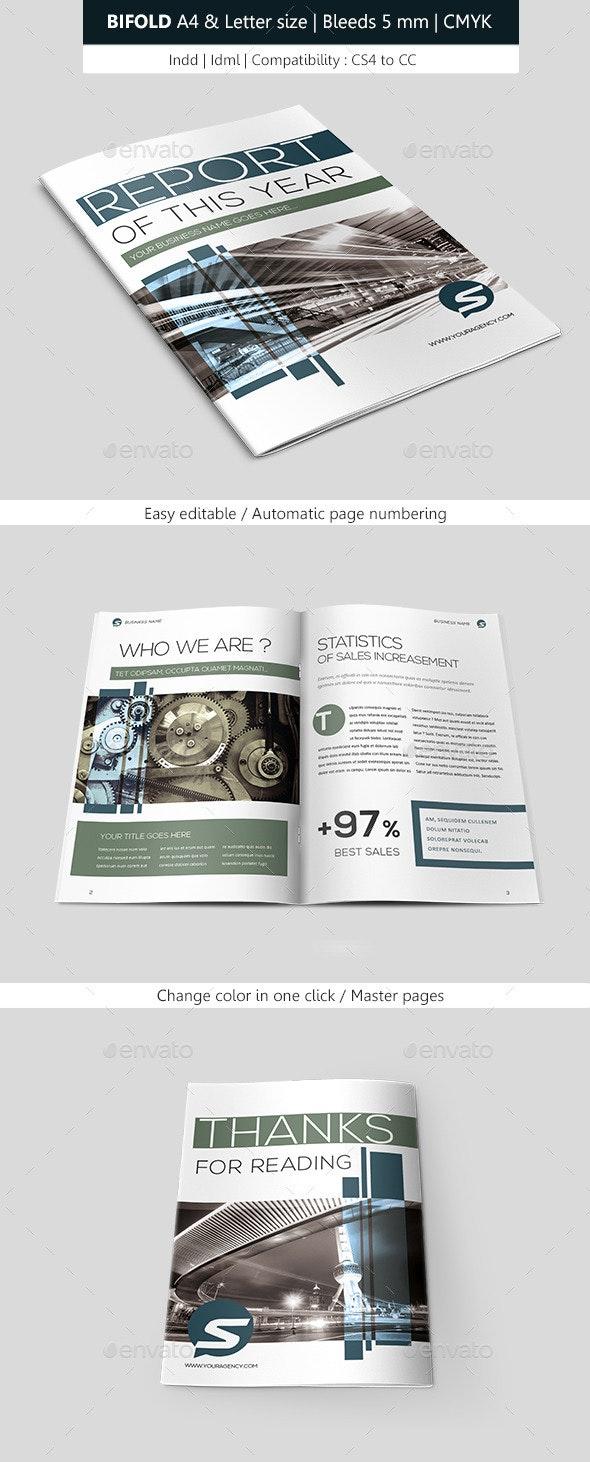 Creative Indesign Brochure Template - Informational Brochures
